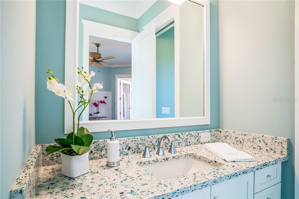 Sea Glass Lavatory - Single Family Home for sale at 601 Triton Bnd, Longboat Key, FL 34228 - MLS Number is A4215179
