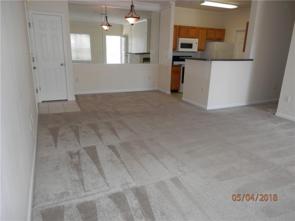 Family Room and Dining Room - Condo for sale at 4802 51st St W #1318, Bradenton, FL 34210 - MLS Number is A4402353