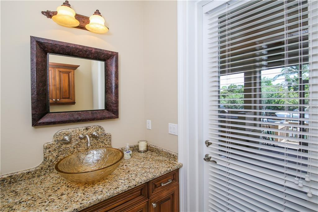 Powder Room/Pool Bath - Single Family Home for sale at 432 Sorrento Dr, Osprey, FL 34229 - MLS Number is A4402898