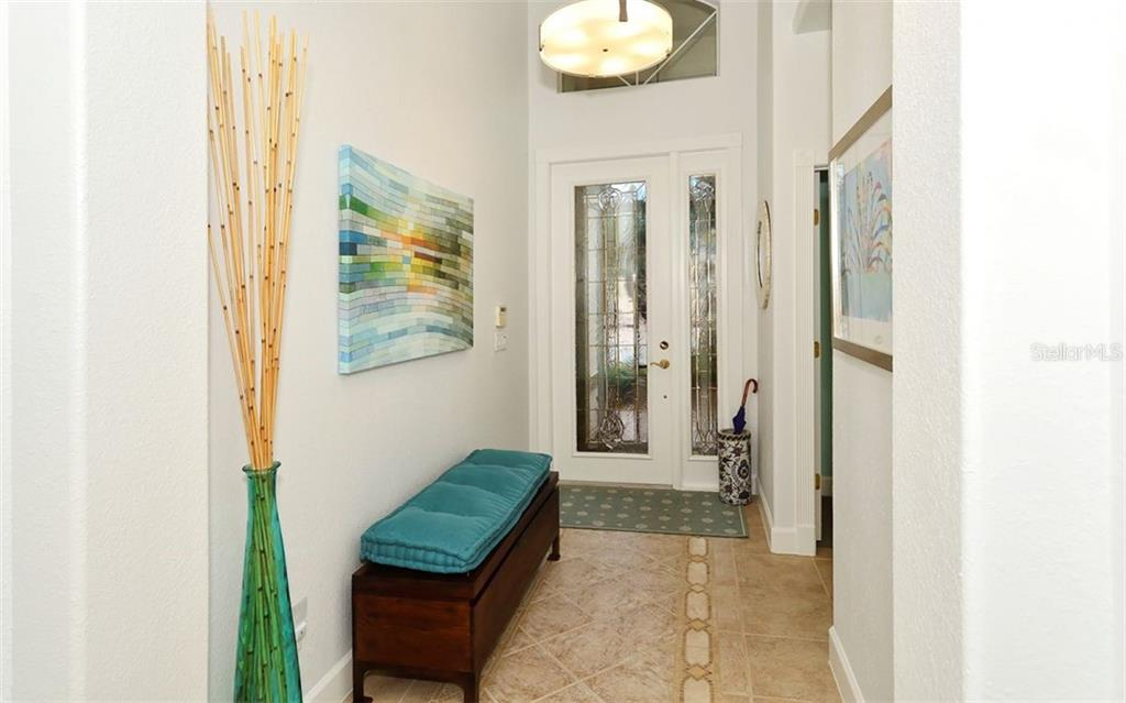 Foyer - Single Family Home for sale at 6507 42nd St E, Sarasota, FL 34243 - MLS Number is A4404611