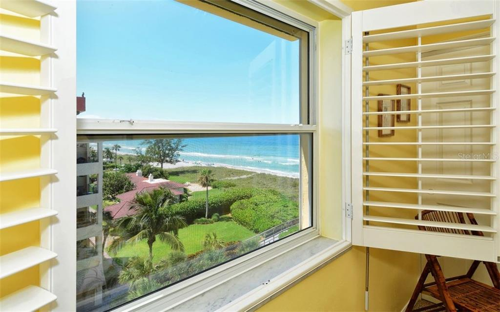 2nd bedroom Gulf view - Condo for sale at 4311 Gulf Of Mexico Dr #601, Longboat Key, FL 34228 - MLS Number is A4405195