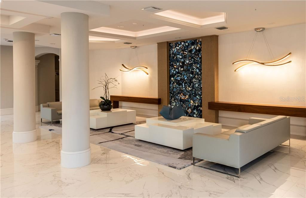 Lobby in Building - Condo for sale at 435 L Ambiance Dr #k806, Longboat Key, FL 34228 - MLS Number is A4406683