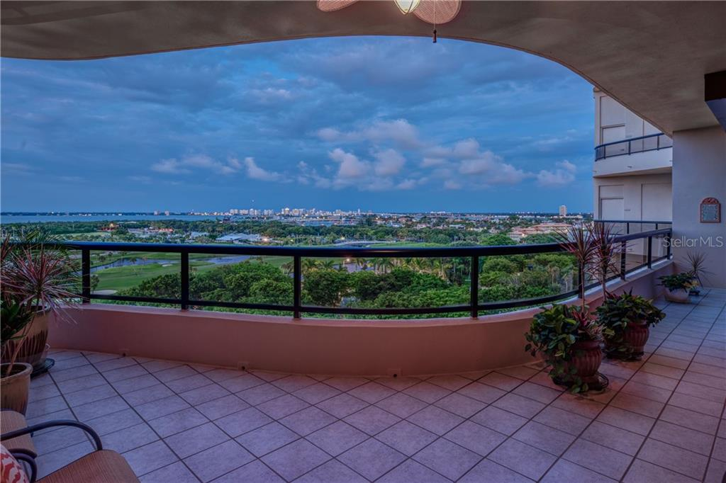Twinkling lights at night, sunrises to remember forever in the morning. - Condo for sale at 435 L Ambiance Dr #k806, Longboat Key, FL 34228 - MLS Number is A4406683