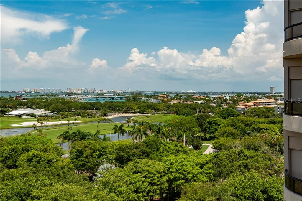 View from the bayside terrace - Condo for sale at 435 L Ambiance Dr #k806, Longboat Key, FL 34228 - MLS Number is A4406683