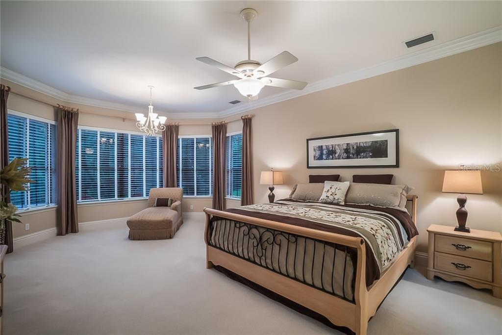 Master Bedroom - Single Family Home for sale at 13223 Palmers Creek Ter, Lakewood Ranch, FL 34202 - MLS Number is A4408290