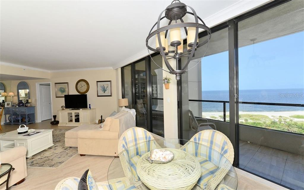 Gulf Views from Balcony - Condo for sale at 1211 Gulf Of Mexico Dr #705, Longboat Key, FL 34228 - MLS Number is A4410234