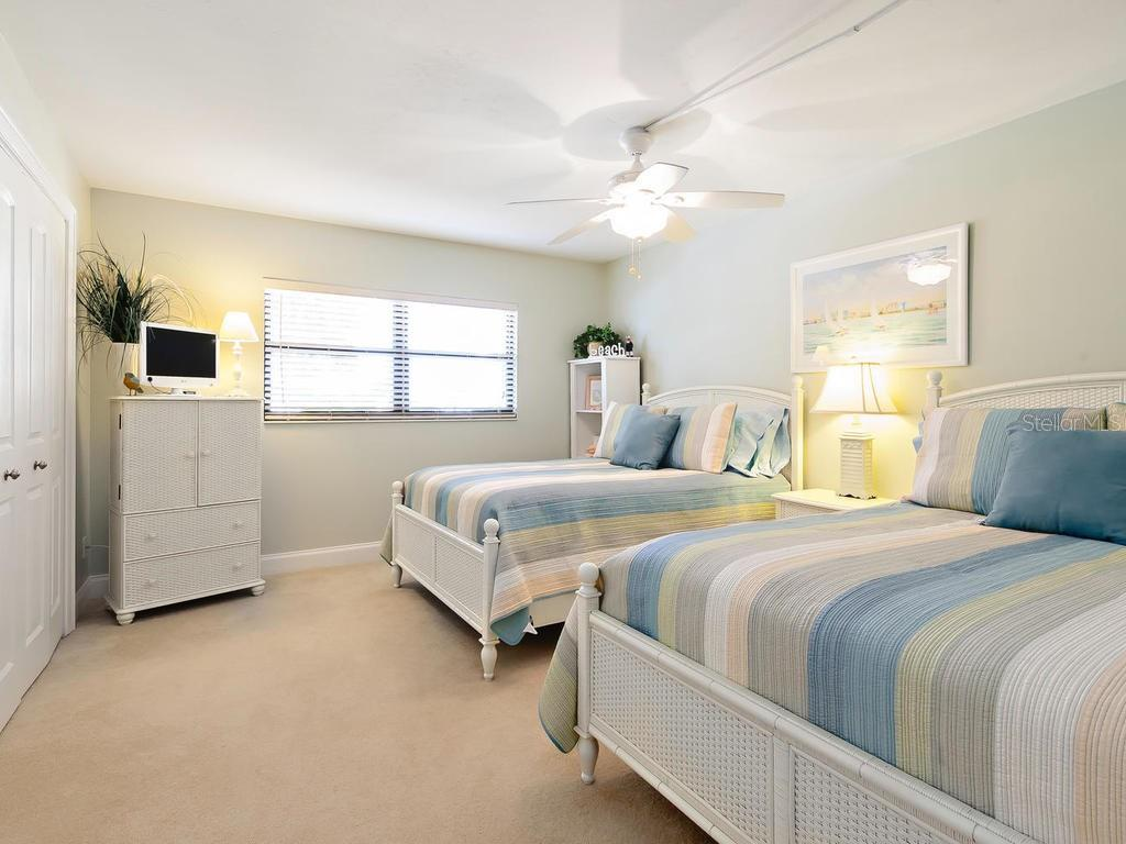 Second Bedroom - Condo for sale at 5780 Midnight Pass Rd #208, Sarasota, FL 34242 - MLS Number is A4411755