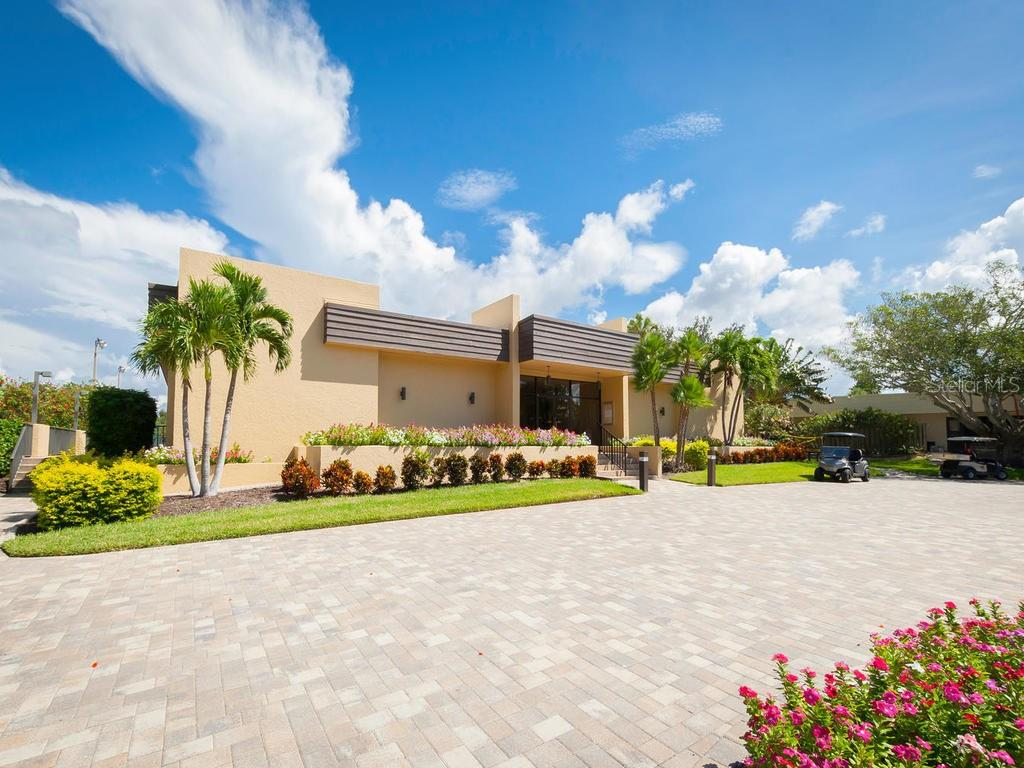Exterior of Clubhouse. - Condo for sale at 5780 Midnight Pass Rd #208, Sarasota, FL 34242 - MLS Number is A4411755