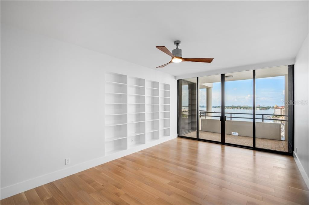 Guest Suite or 2nd Master Suite w/private balcony - Condo for sale at 1255 N Gulfstream Ave #1502, Sarasota, FL 34236 - MLS Number is A4413205