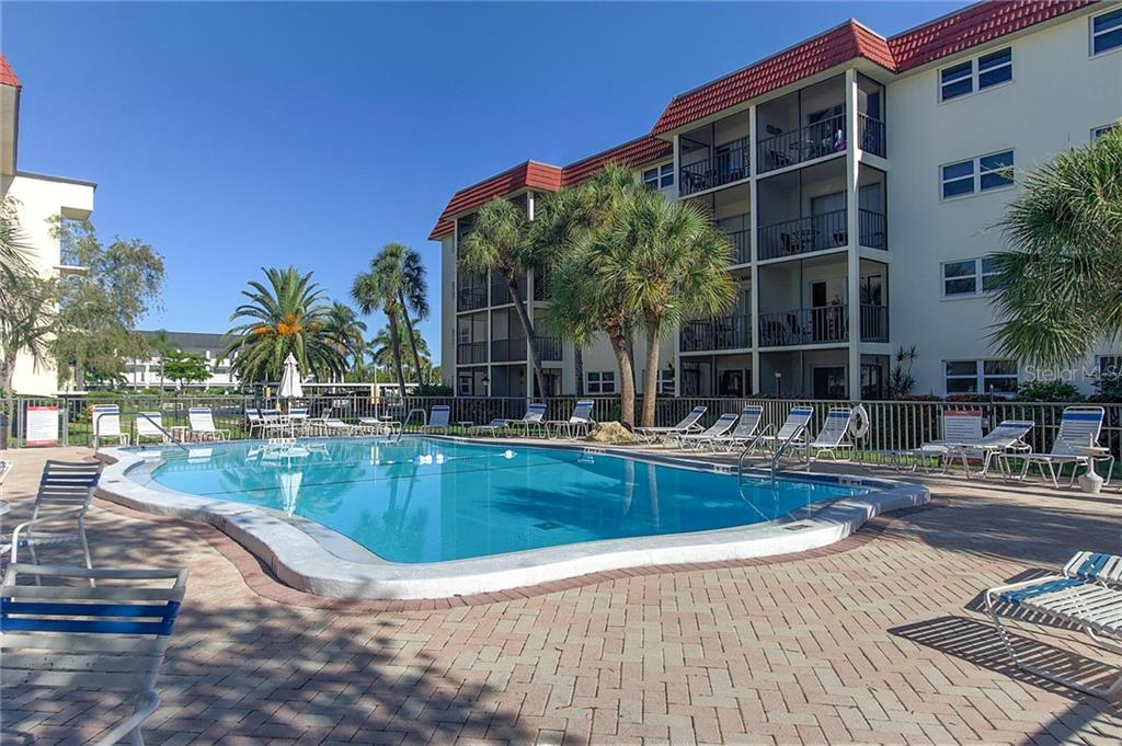 La Siesta Pool - Condo for sale at 925 Beach Rd #107b, Sarasota, FL 34242 - MLS Number is A4413716