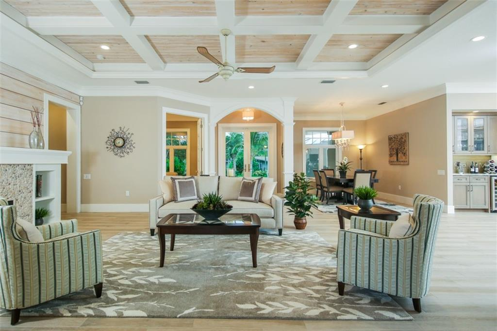 Living Room - Single Family Home for sale at 4847 Primrose Path, Sarasota, FL 34242 - MLS Number is A4415116