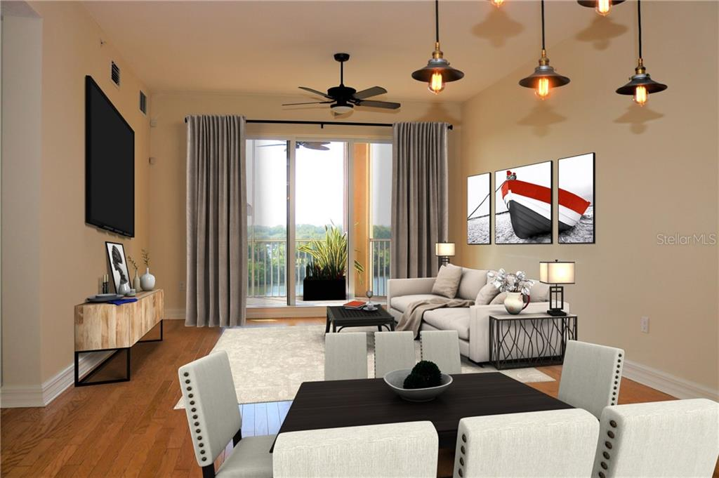 Map & Floor Plan - Condo for sale at 5531 Cannes Cir #404, Sarasota, FL 34231 - MLS Number is A4416085