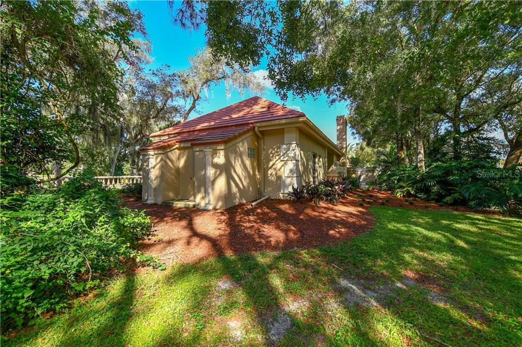Attached Storage Shed - Single Family Home for sale at 7659 Alister Mackenzie Dr, Sarasota, FL 34240 - MLS Number is A4416607