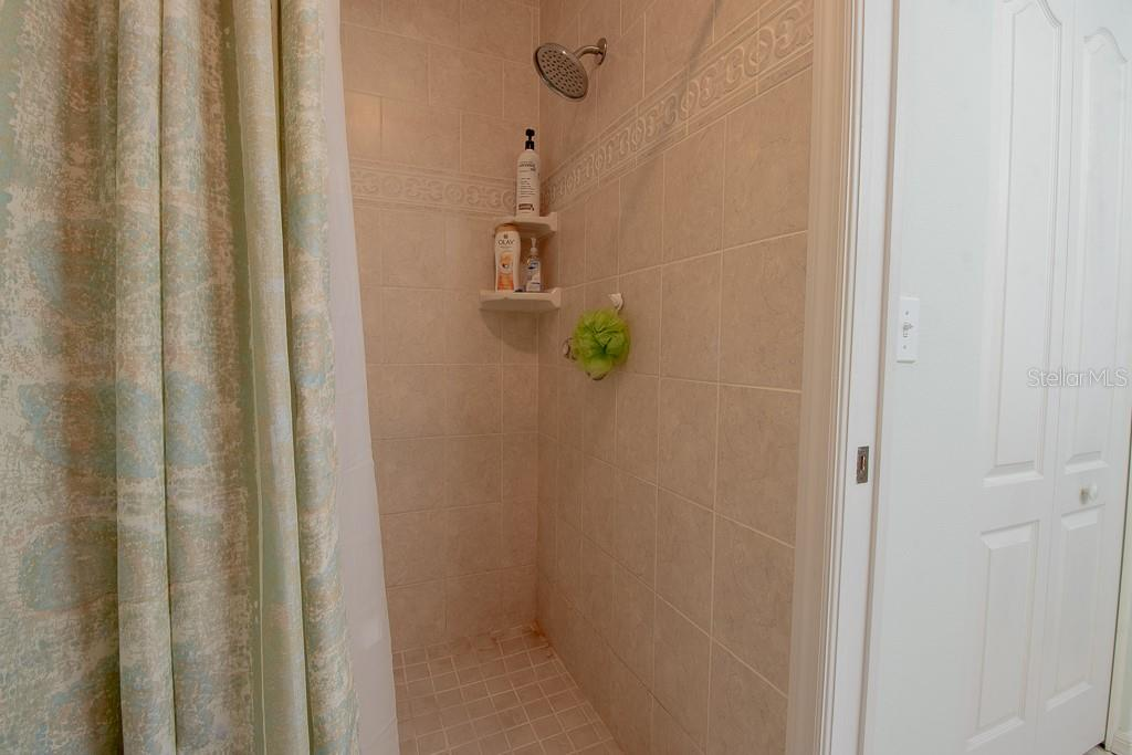 Updated shower tile, walk-in closet to right - Condo for sale at 9620 Club South Cir #5110, Sarasota, FL 34238 - MLS Number is A4418081