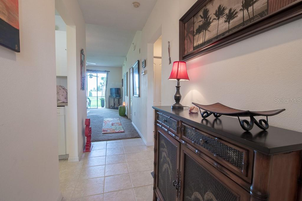 Tiled entry way - Condo for sale at 9620 Club South Cir #5110, Sarasota, FL 34238 - MLS Number is A4418081