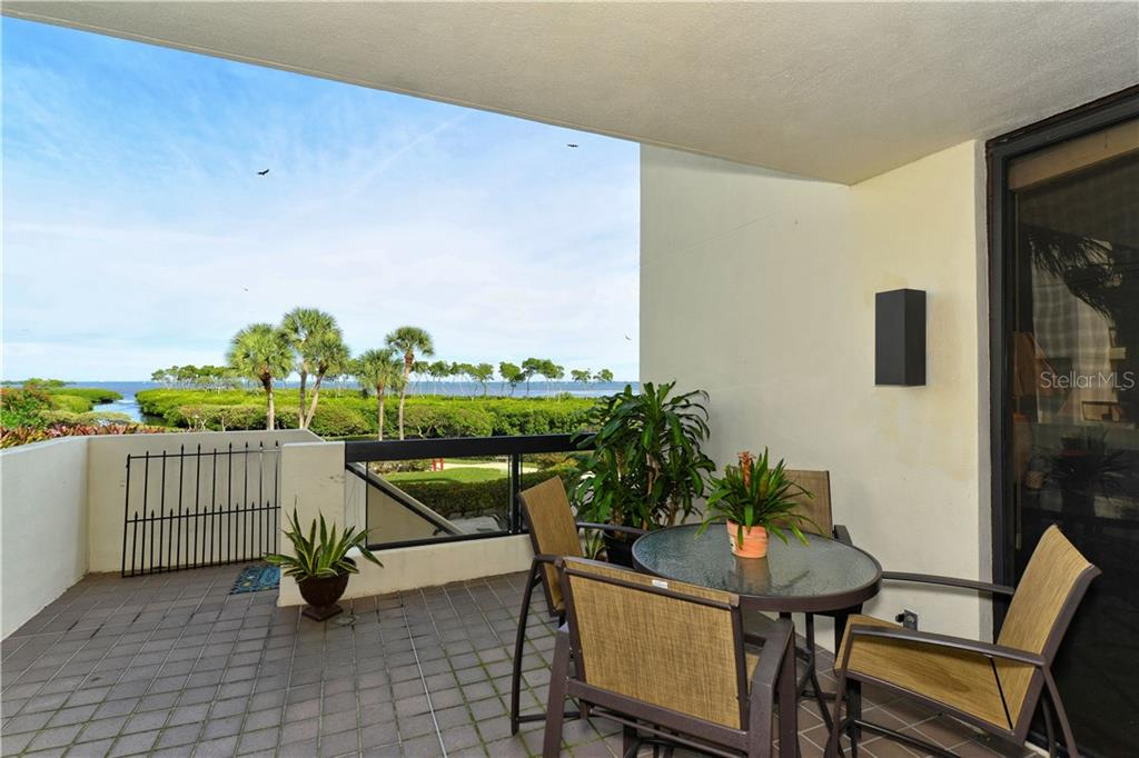 Oversized terrace - Condo for sale at 1930 Harbourside Dr #117, Longboat Key, FL 34228 - MLS Number is A4420232