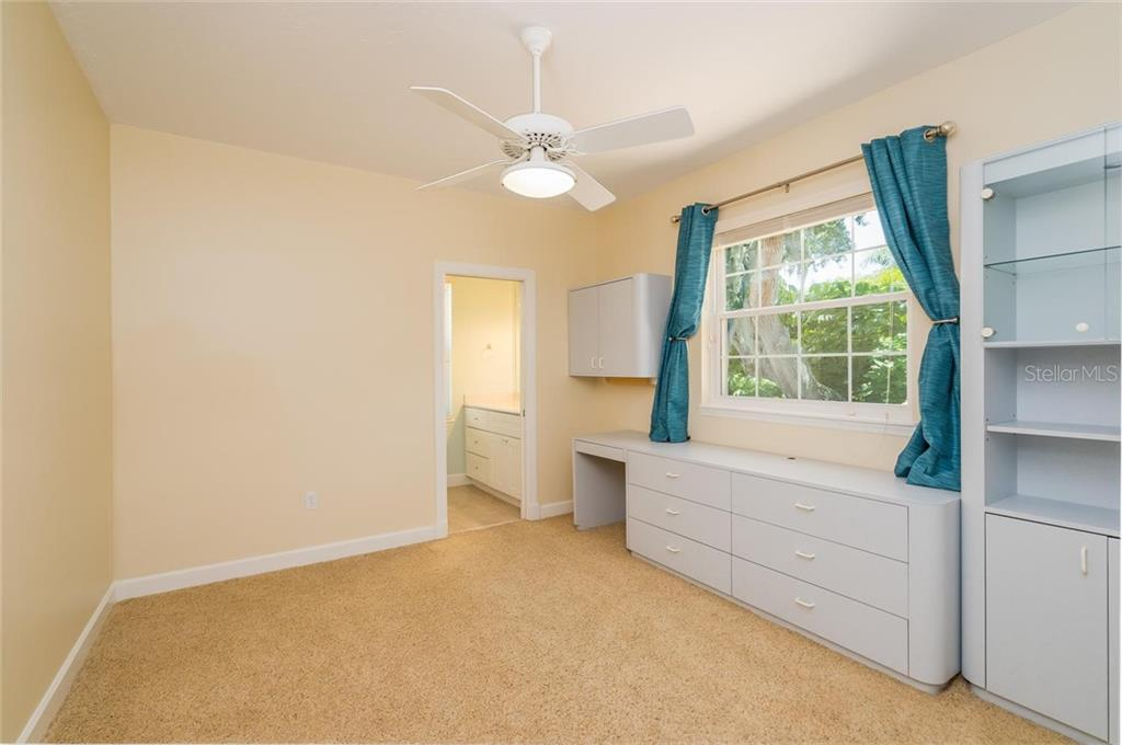 Third bedroom suite - Single Family Home for sale at 3640 Flamingo Ave, Sarasota, FL 34242 - MLS Number is A4422130