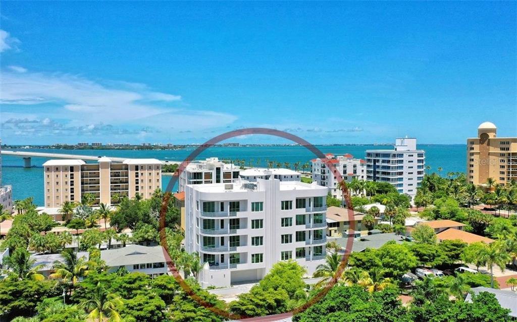 Sarasota's newest Golden Gate Point luxury condo community convenient to downtown Sarasota and a short bike ride to St. Armand's Circle. - Condo for sale at 609 Golden Gate Pt #201, Sarasota, FL 34236 - MLS Number is A4422340