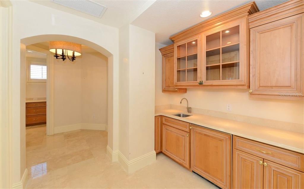 Master Suite morning bar, - Condo for sale at 464 Golden Gate Pt #701, Sarasota, FL 34236 - MLS Number is A4422622