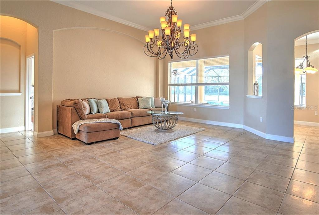 Double door entrance - Single Family Home for sale at 29425 Saddlebag Trl, Myakka City, FL 34251 - MLS Number is A4422648