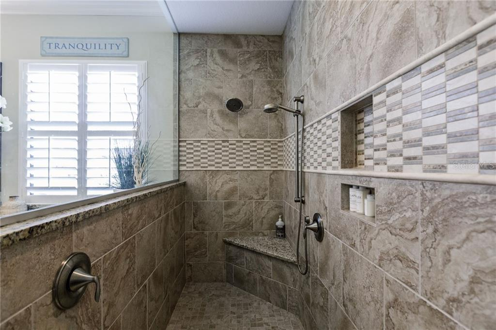 Walk in shower, Master Bathroom - Single Family Home for sale at 20 Blake Way, Osprey, FL 34229 - MLS Number is A4423645