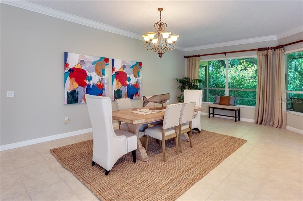 This dining room is large enough to hold any table! - Single Family Home for sale at 2972 Jeff Myers Cir, Sarasota, FL 34240 - MLS Number is A4424133