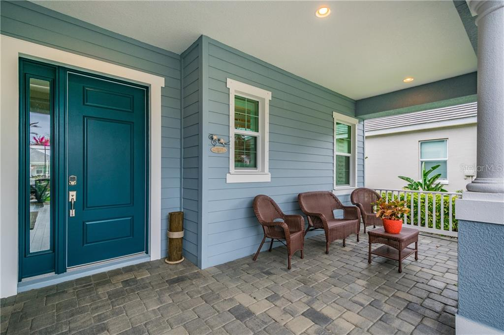 A sitting porch is a rare find! - Single Family Home for sale at 595 Fore Dr, Bradenton, FL 34208 - MLS Number is A4428657