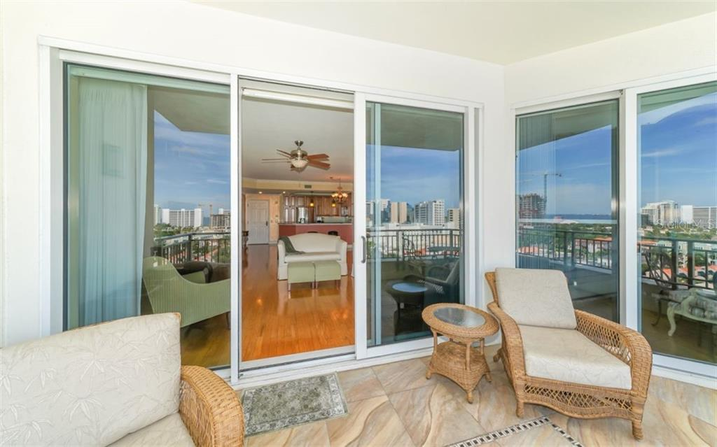 Entrance to the pool area - Condo for sale at 100 Central Ave #f1014, Sarasota, FL 34236 - MLS Number is A4428676