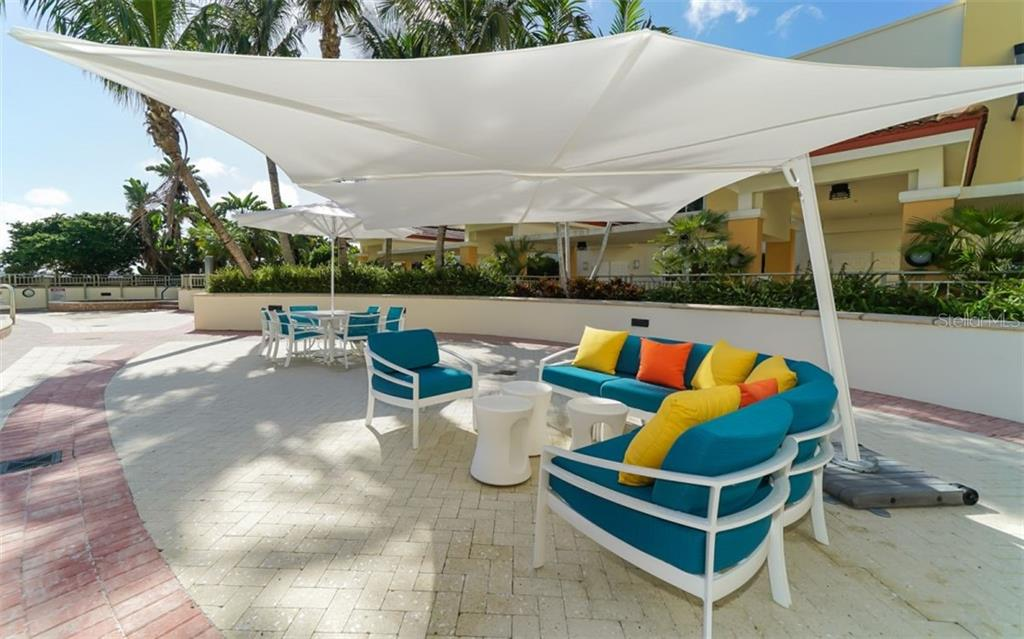 Fitness center off the pool deck - Condo for sale at 100 Central Ave #f1014, Sarasota, FL 34236 - MLS Number is A4428676
