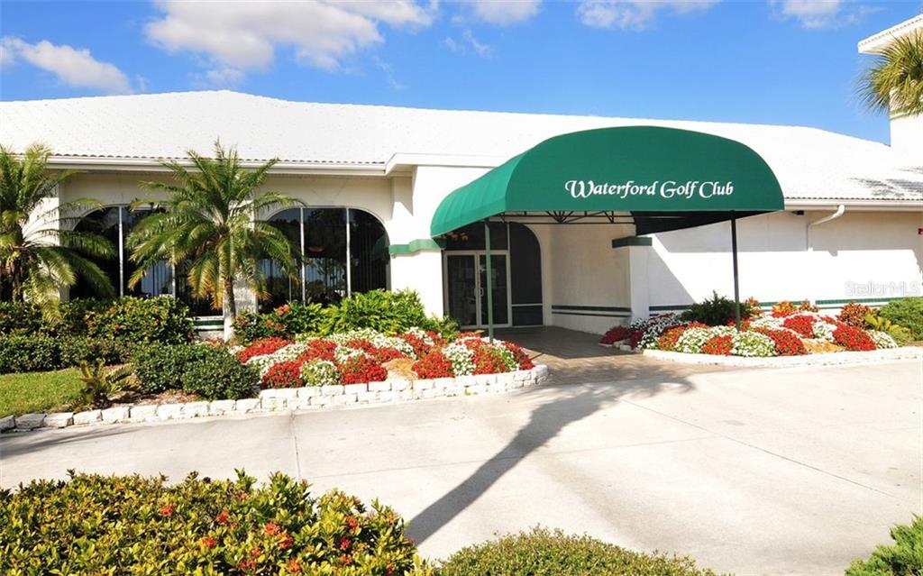 Waterfords golf memberships are available but NOT mandatory. Waterford offers lunch and breakfast daily and features a full bar with NO restaurant mininums. - Single Family Home for sale at 1636 Liscourt Dr, Venice, FL 34292 - MLS Number is A4429524