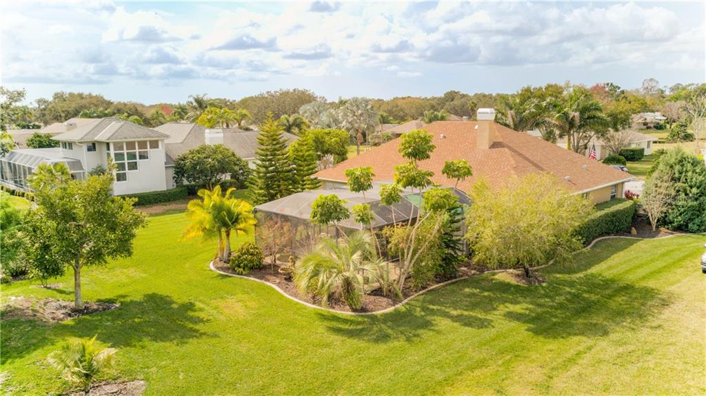 All kinds of local nature, many types of birds, rabbits, squirrels, deer, etc. - Single Family Home for sale at 6321 W Glen Abbey Ln E, Bradenton, FL 34202 - MLS Number is A4429610