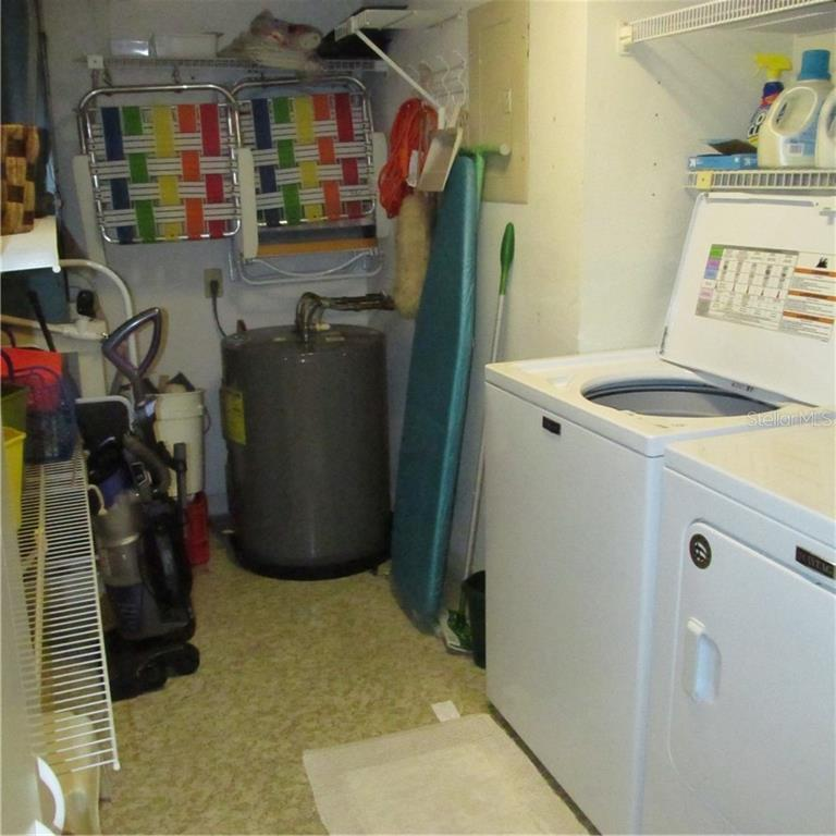 Utility Room and Great Storage - Condo for sale at 1125 W Peppertree Dr #603, Sarasota, FL 34242 - MLS Number is A4430690