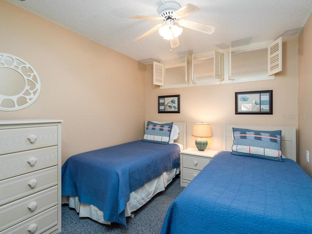 Guest Bedroom - Condo for sale at 4621 Gulf Of Mexico Dr #14d, Longboat Key, FL 34228 - MLS Number is A4435849