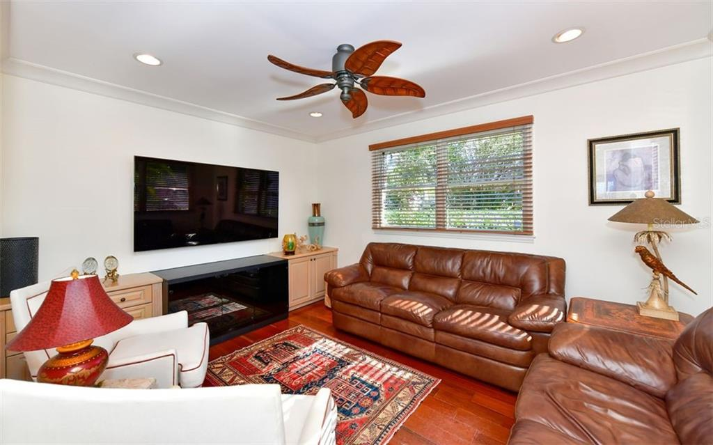 TV Room - Single Family Home for sale at 3809 Casey Key Rd, Nokomis, FL 34275 - MLS Number is A4437924