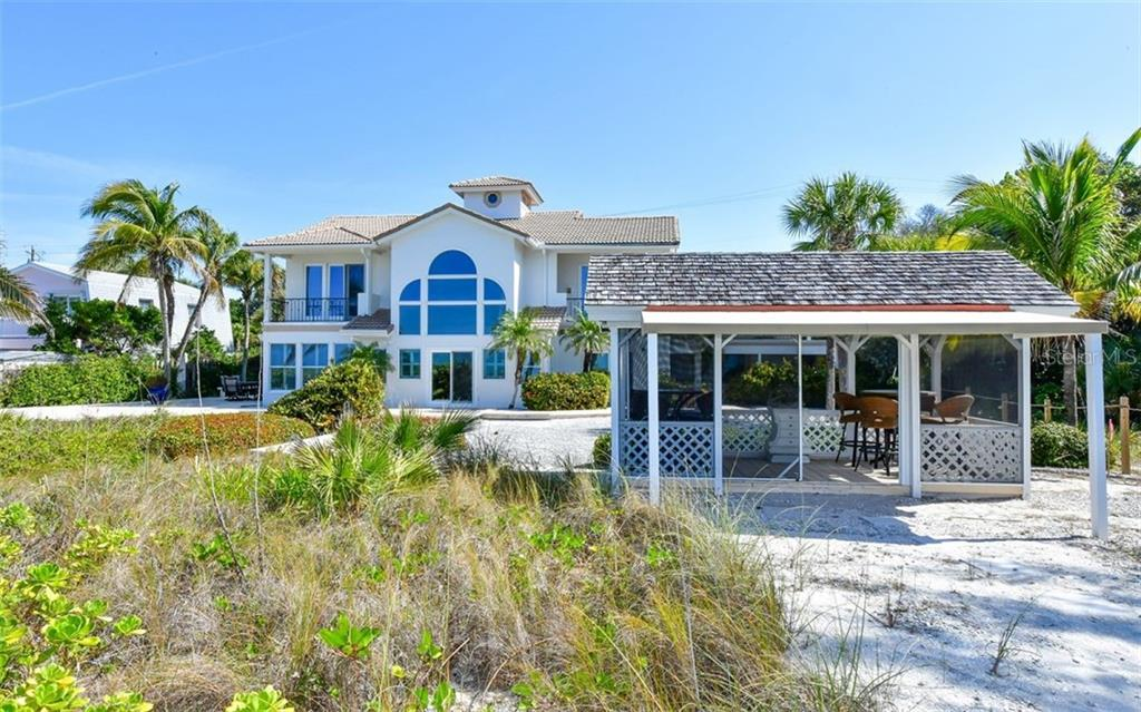 Front entry - Single Family Home for sale at 3809 Casey Key Rd, Nokomis, FL 34275 - MLS Number is A4437924