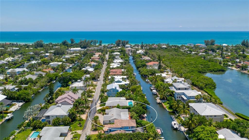 Imagine your boat out back with no fixed bridges to the Gulf of Mexico and just a short distance to the deeded beach access for your nightly sunsets. - Single Family Home for sale at 701 Norton St, Longboat Key, FL 34228 - MLS Number is A4440596