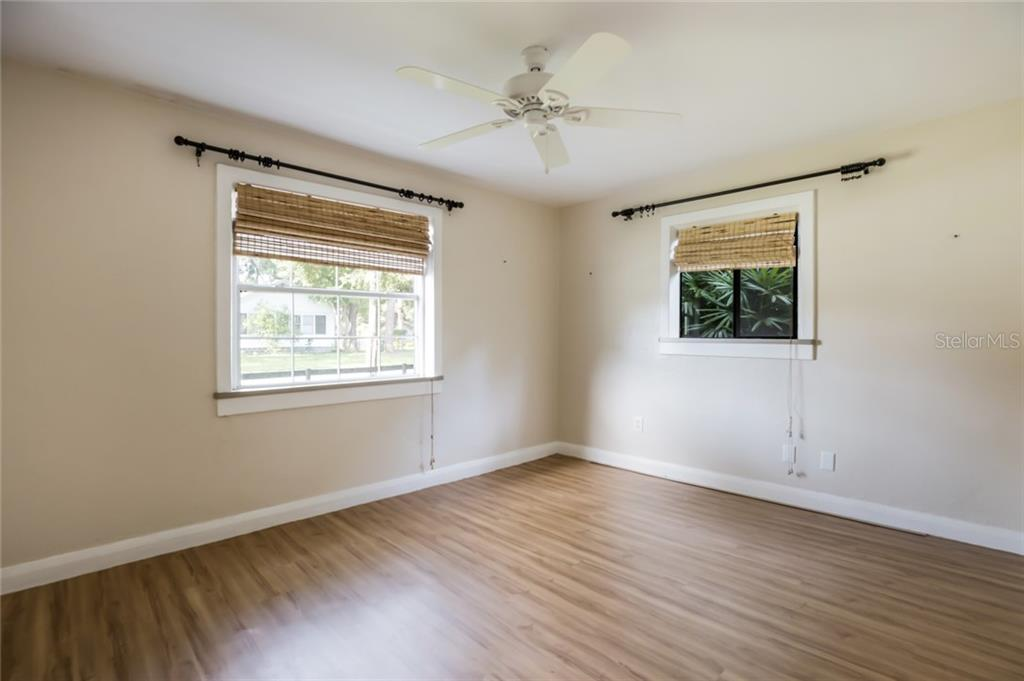 Master bedroom with natural lighting. - Single Family Home for sale at 1763 6th St, Sarasota, FL 34236 - MLS Number is A4442510