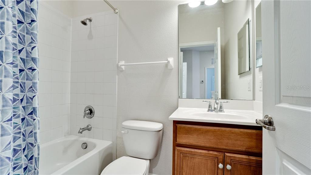 Guest bath - Condo for sale at 7815 Moonstone Dr #24-204, Sarasota, FL 34233 - MLS Number is A4446867