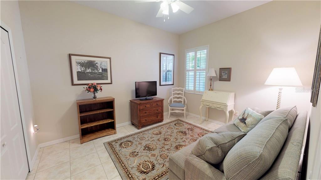 Bedroom 3 - Single Family Home for sale at 7288 Lismore Ct, Lakewood Ranch, FL 34202 - MLS Number is A4449934