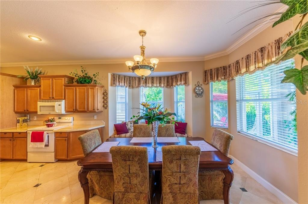 Dining Room - Single Family Home for sale at 532 Colgate Rd, Venice, FL 34293 - MLS Number is A4451619