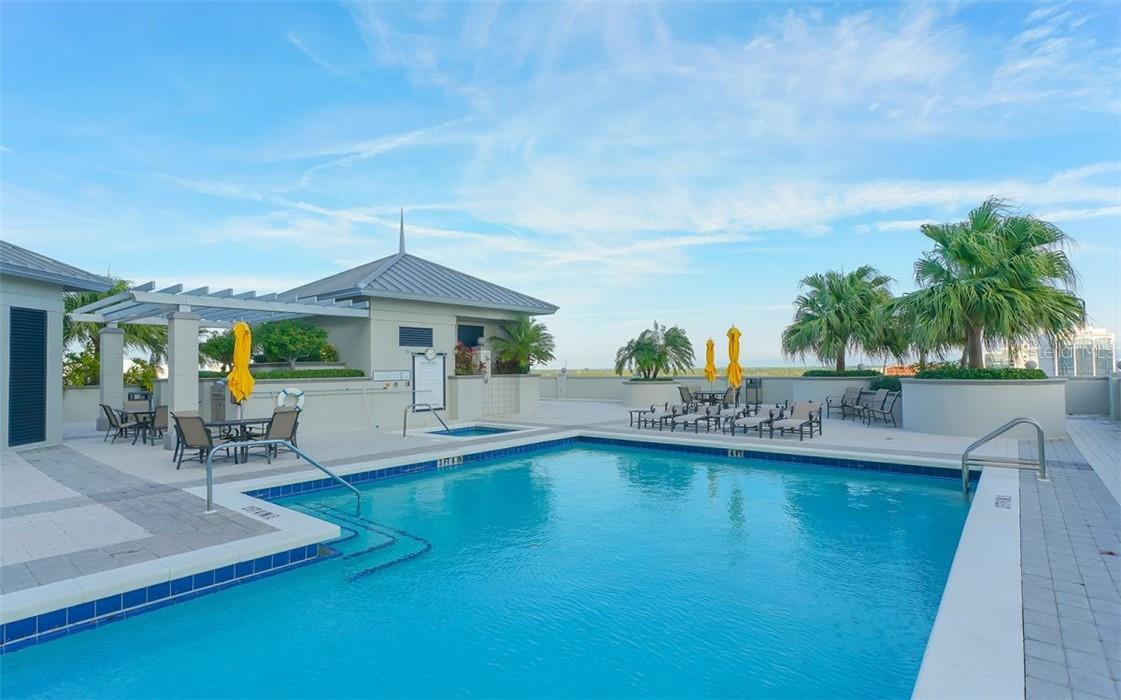 BBQ Grilling Area - Condo for sale at 50 Central Ave #16 South, Sarasota, FL 34236 - MLS Number is A4454416