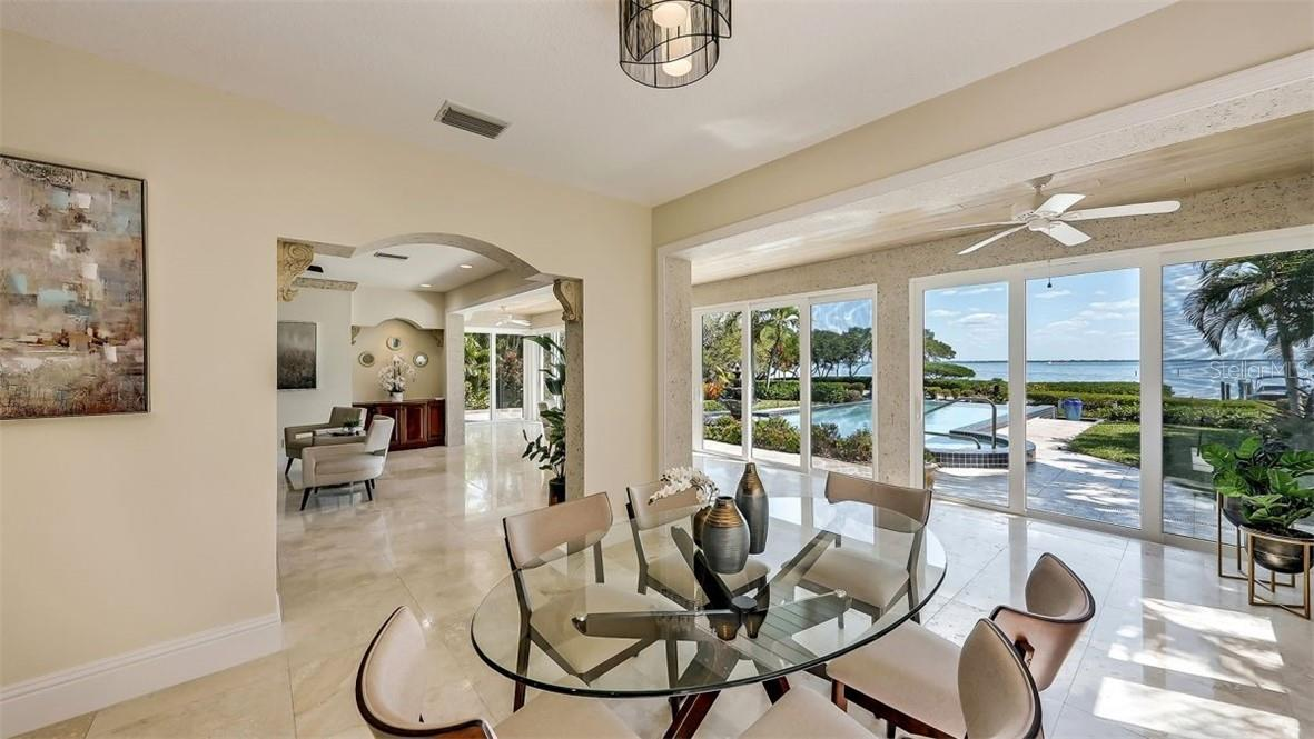 Tennis Court, Nature Preserve and Gulf of Mexico - Single Family Home for sale at 5372 Sandhamn Pl, Longboat Key, FL 34228 - MLS Number is A4458496