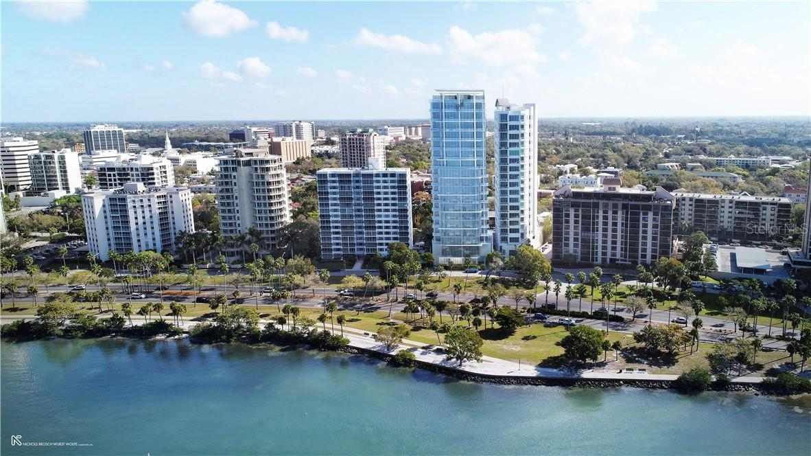 Located between Palm & Gulfstream Avenues, where the city meets the bay. - Condo for sale at 605 S Gulfstream Ave #Ph18, Sarasota, FL 34236 - MLS Number is A4458982
