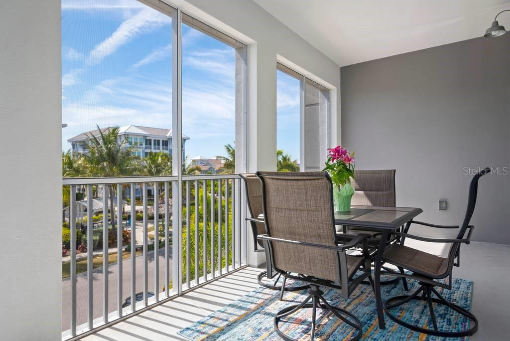 Screened Lanai - Condo for sale at 383 Aruba Cir #201, Bradenton, FL 34209 - MLS Number is A4466540