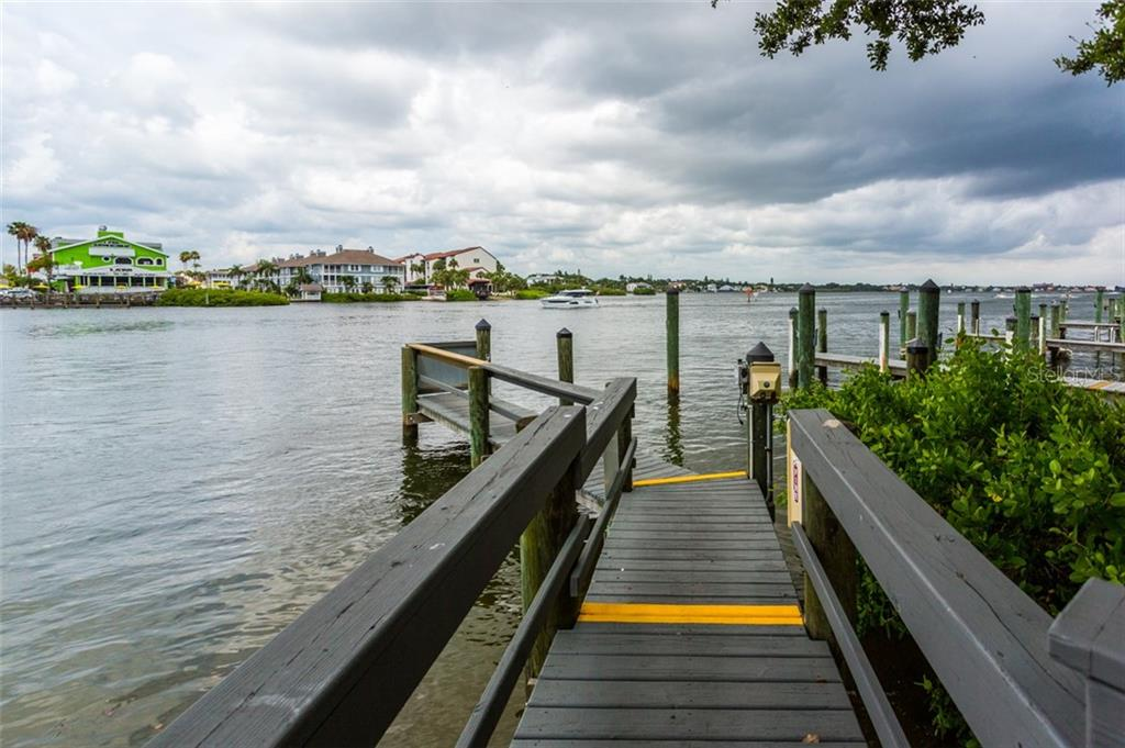 Fishing Pier - Condo for sale at 1308 Old Stickney Point Rd #W24, Sarasota, FL 34242 - MLS Number is A4471155