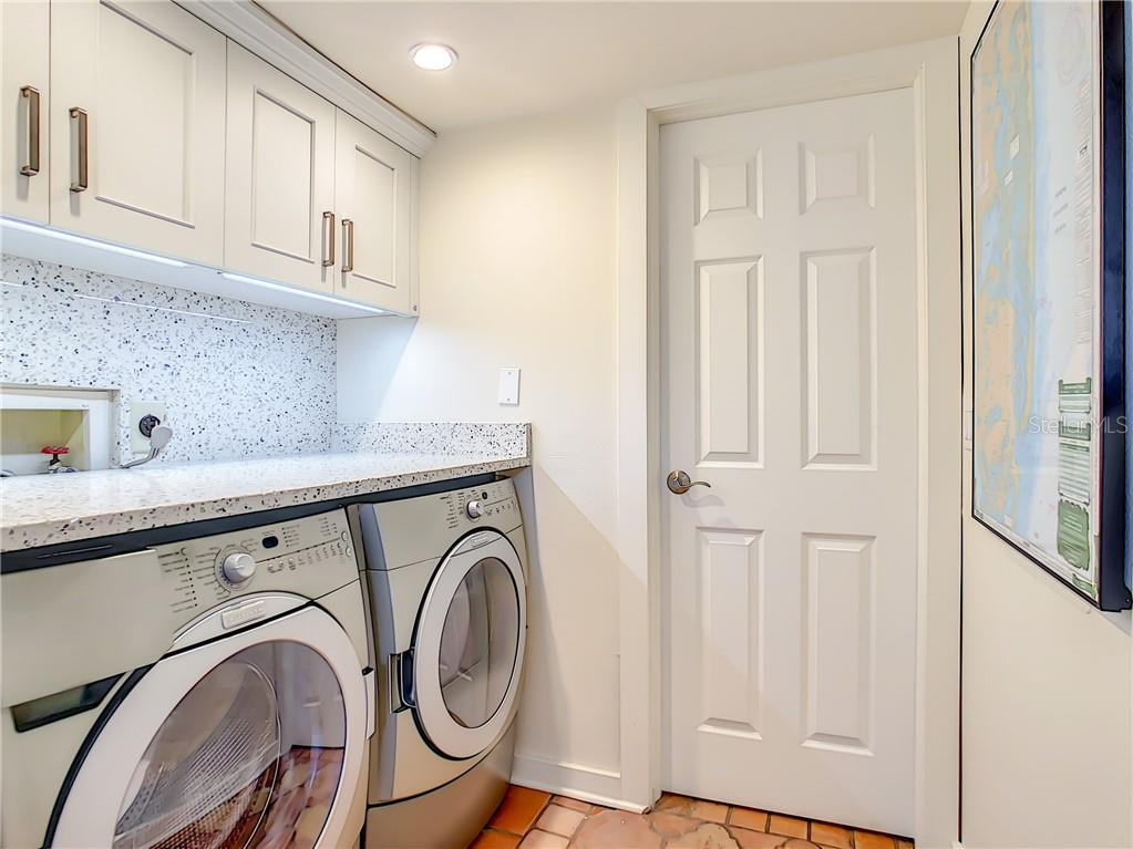 Convenient laundry on the main floor - Townhouse for sale at 69 Tidy Island Blvd #69, Bradenton, FL 34210 - MLS Number is A4471437
