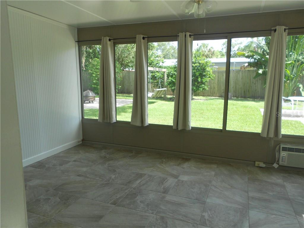Bonus Room - looks into backyard. - Single Family Home for sale at 5326 Colewood Pl, Sarasota, FL 34232 - MLS Number is A4471495