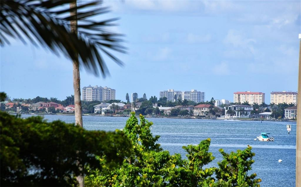 View from terrace - Condo for sale at 340 S Palm Ave #Pl1, Sarasota, FL 34236 - MLS Number is A4471687