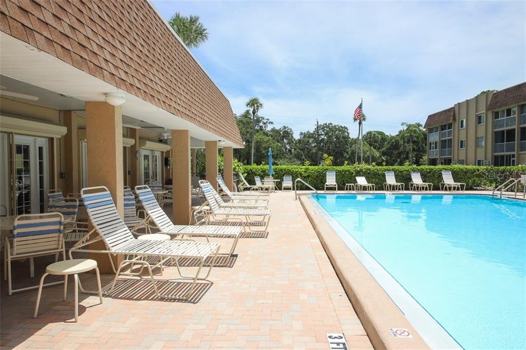 Covered seating area of Club House - Condo for sale at 1330 Glen Oaks Dr E #171d, Sarasota, FL 34232 - MLS Number is A4473999