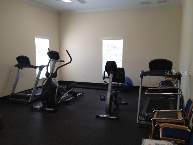 Workout room. - Condo for sale at 977 Sandpiper Cir #977, Bradenton, FL 34209 - MLS Number is A4474554
